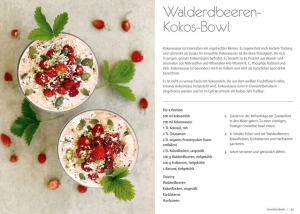 Rezept: Walderdbeeren-Kokos-Bowl