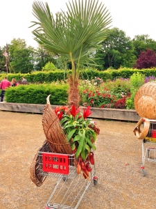 Bunt, gepflegt, originell. Die Gärten rund um das Schloss Ippenburg.