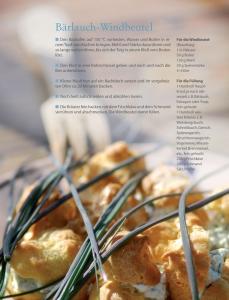 Köstliche Bärlauch-Windbeutel mit frischen Kräutern, © Christine Paxmann
