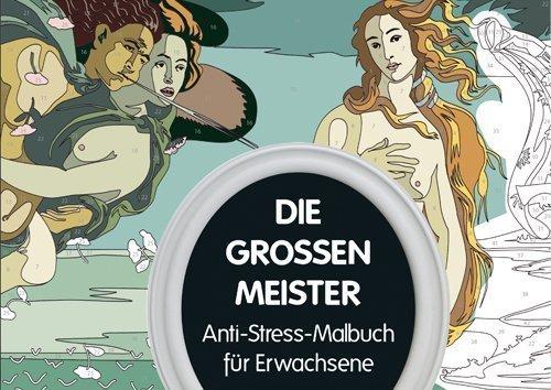 Die großen Meister - Malbuch