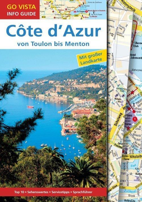 Go Vista Reiseführer - Cote d'Azur