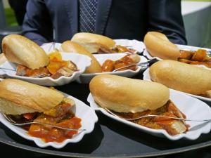 Eine Runde Currywurst: Bloggerevent