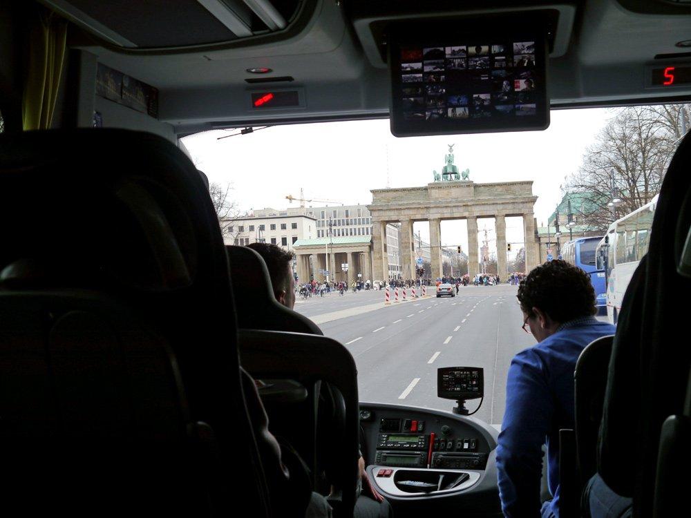 Das Brandenburger Tor – auch immer wieder beliebter Drehort deutscher und internationaler Filme