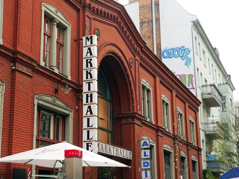 """In der Markthalle 9 in Kreuzberg wurden Szenen des Kult-Films """"Herr Lehmann"""" gedreht"""