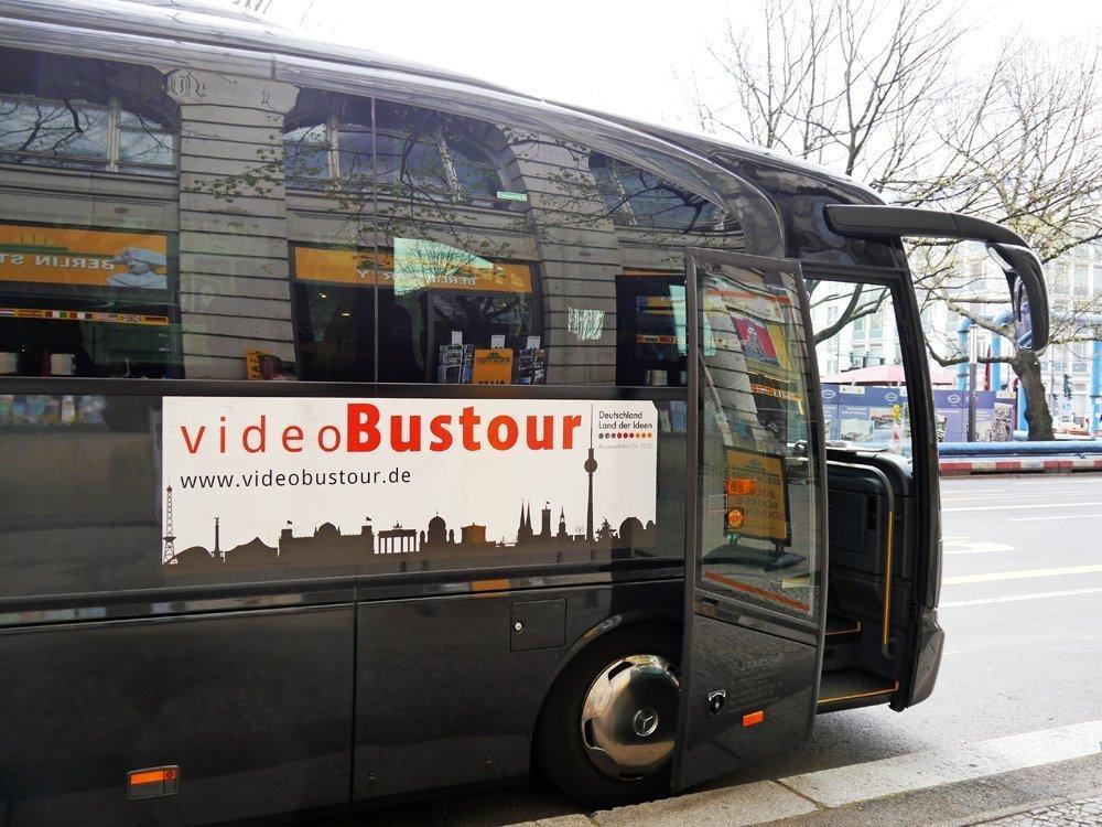 Start der Videobustour: Unter den Linden