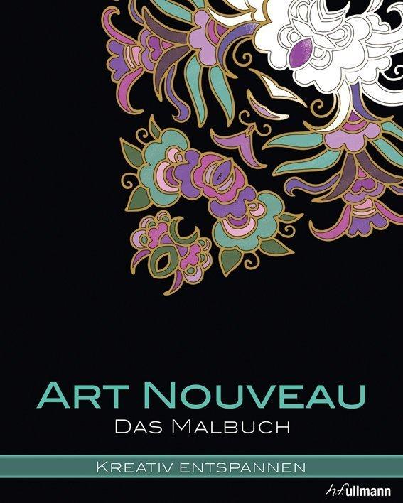 Kreativ entspannen: Art Nouveau - Buch online kaufen - Ullmann Medien