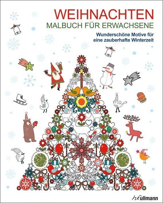 Malen und entspannen: Weihnachten - Buch online kaufen - Ullmann Medien