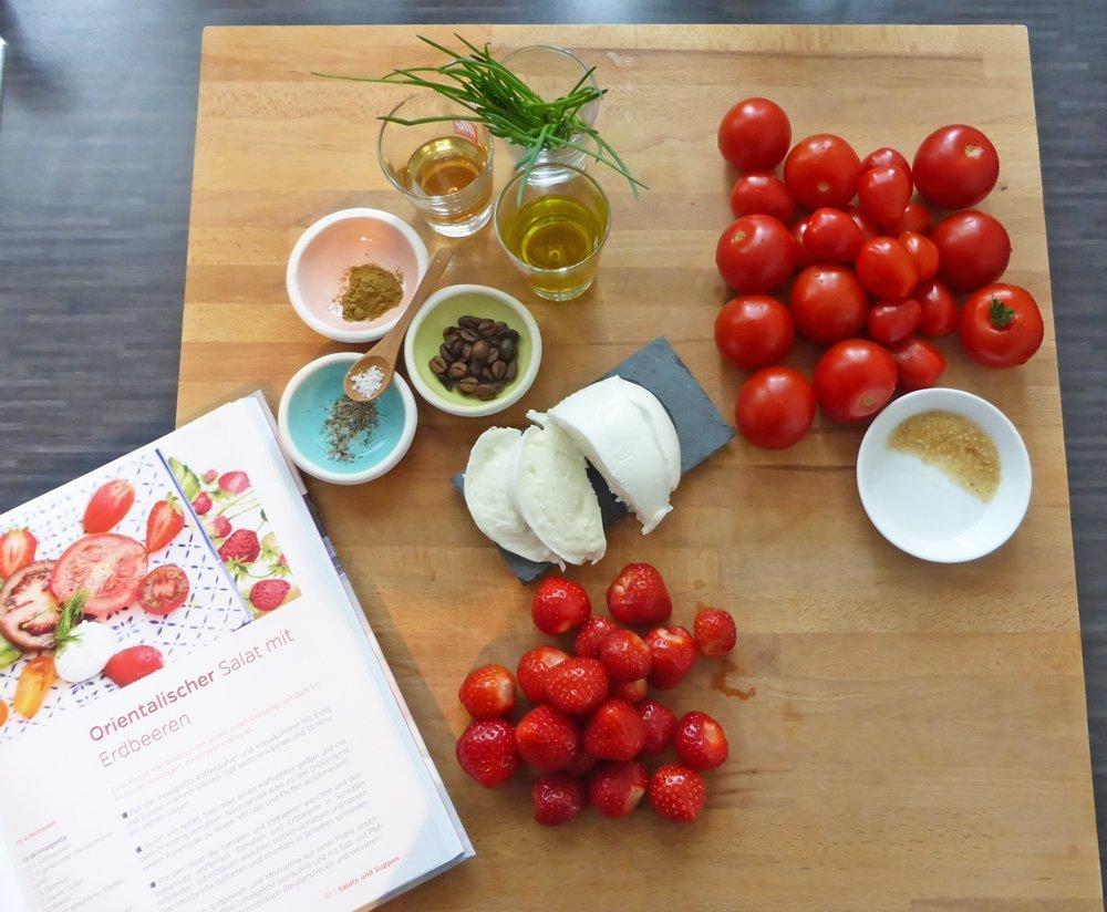 Orientialischer Tomatensalat - Zutaten