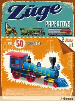 Papertoys: Züge