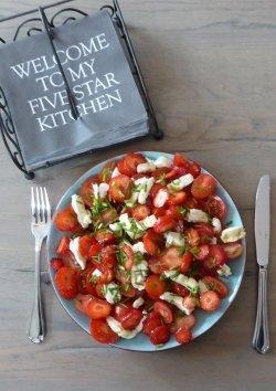 Orientalischer Tomatensalat