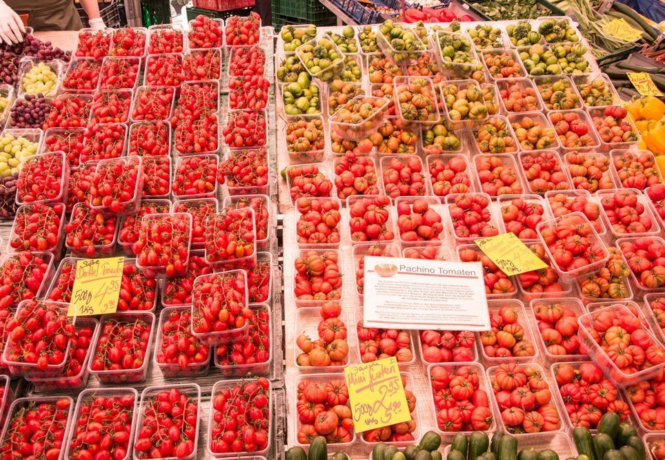 Tomaten auf dem Markt
