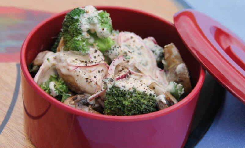 Warm und kalt ein Genuss – und einfach ein perfekter Salat fürs Picknick
