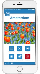 Reise App VISTA POINT Amsterdam