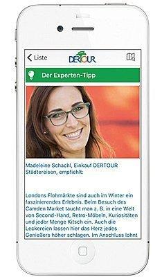 DerTour Reise App-Katalog