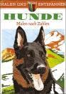Malen und entspannen: Malen-nach-Zahlen Hunde