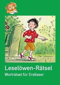 Online-Welt: Leselöwen-Rätsel Wortsätsel für Erstleser