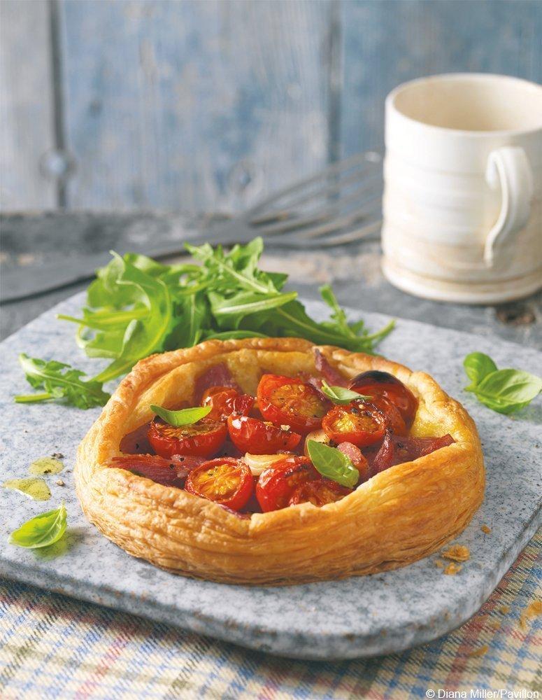 Tomaten-Schinken-Toertchen