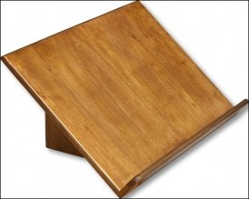 Lesepult aus Holz