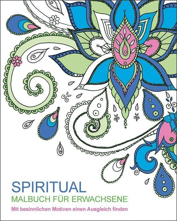 Malen und entspannen: Spiritual - Buch online kaufen - Ullmann Medien