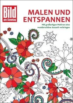 Malen und entspannen: Das Bild am Sonntag-Malbuch