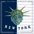Night and Day Malbuch - New York