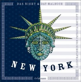 Night & Day Malbuch: New York
