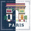 Night and Day Malbuch - Paris