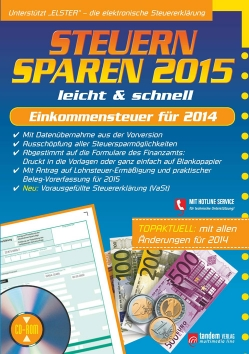 Steuern sparen 2015 leicht & schnell