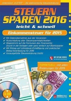 Steuern sparen 2016 leicht & schnell