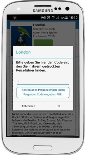 Android Vista Point Travel App - Go Vista Reiseführer