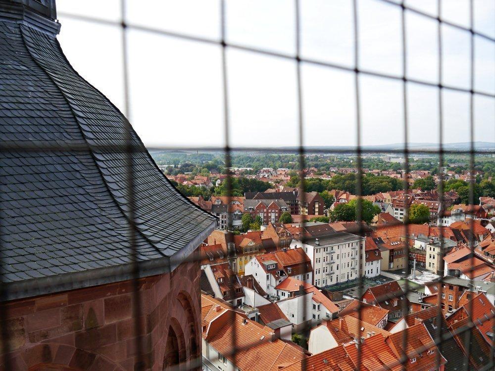 Göttingen von oben: Blick vom Kirchturm St. Johannis