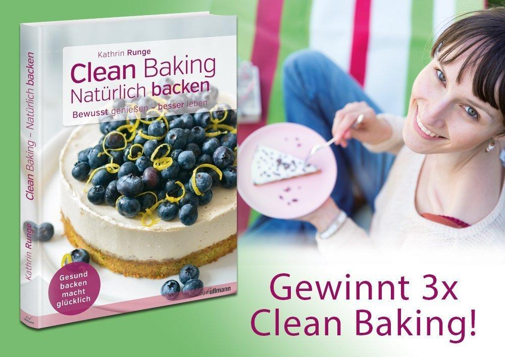 Clean Baking - Gewinnspiel zur Frankfurter Buchmesse