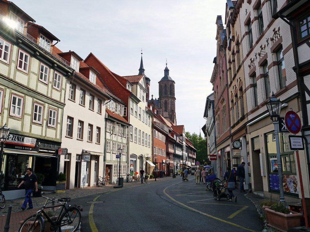 Bummel durch die Altstadt von Göttingen