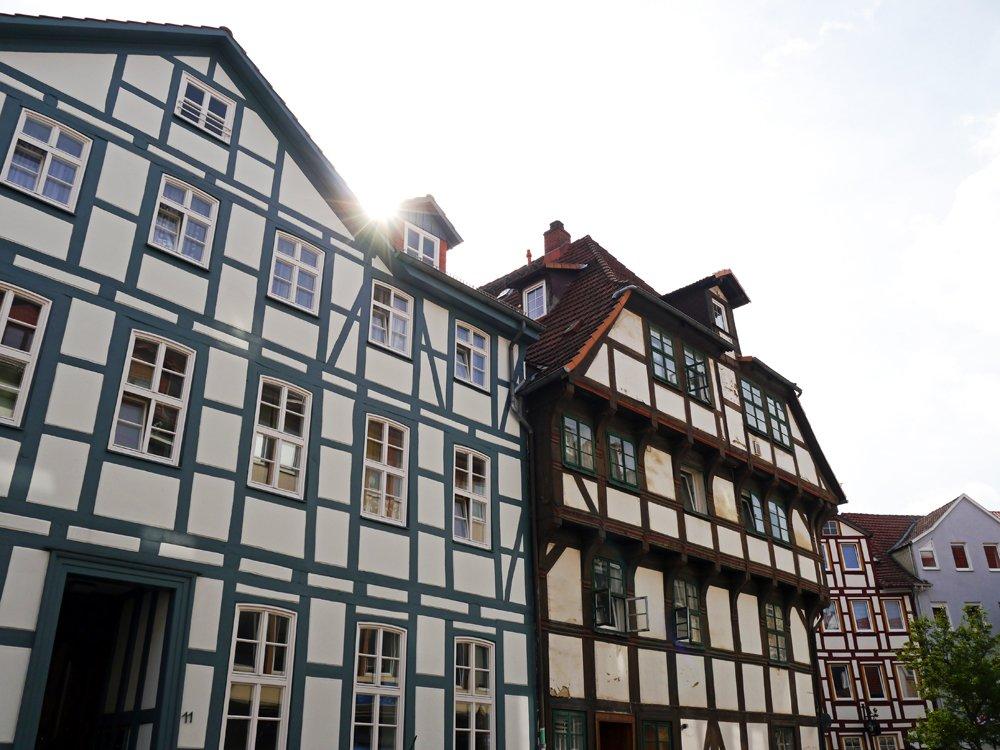 Fachwerkhäuser in der Altstadt von Göttingen