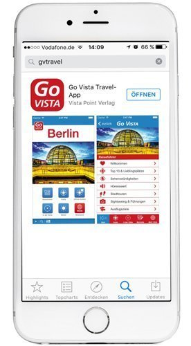 iOs Vista Point Travel App - Go Vista Reiseführer