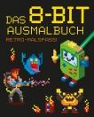 Das 8-bit-Ausmalbuch - Retro-Malspaß