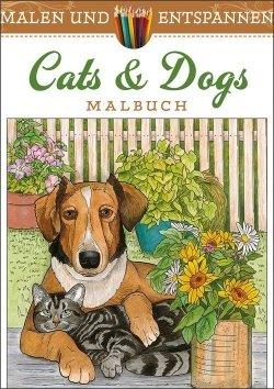 Malen und entspannen: Cats & Dogs