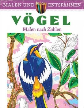 Malen und entspannen: Vögel