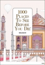 1000 Places To See Before You Die – Malbuch