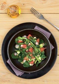 Feldsalat mit Grapefruit