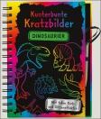 Kunterbunte Kratzbilder - Dinosaurier