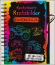 Kunterbunte Kratzbilder - Fahrzeuge & Co.