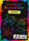 Kunterbunte Kratzbilder: Space