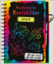 Kunterbunte Kratzbilder - Space