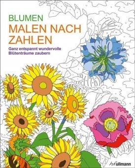 Malen nach Zahlen: Blumen
