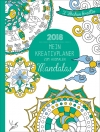 Mein Kreativplaner zum Ausmalen 2018: Mandalas