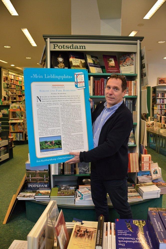 Mein Lieblingsplatz - Stefan Bellin, Internationales Buch Potsdam