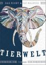 Night & Day Malbuch: Tierwelt