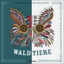 Night and Day Malbuch - Waldtiere