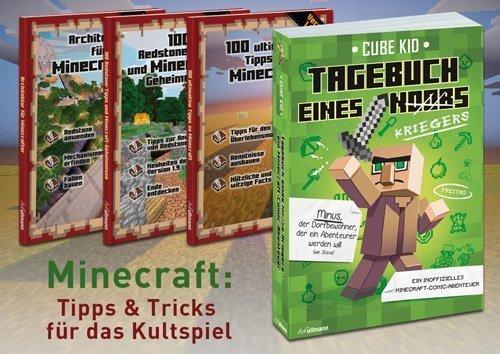 Minecraft Bücher - Romane und Game-Guides